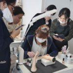 カラーリング! ネイルスクール東京 シンシアネイルアカデミー