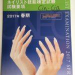 春季ネイリスト技能検定試験 1級 アート 東京ネイルスクール シンシアネイルアカデミー