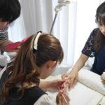 ジェル技能検定 中級 長さ出し  シンシアネイルアカデミー 東京ネイルスクール