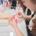 ネイリスト技能検定2級対策(カラーリング) 東京ネイルスクール シンシアネイルアカデミー