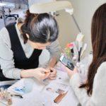 ネイリスト技能検定2級アート富士山(*^▽^*) 東京ネイルスクール シンシアネイルアカデミー